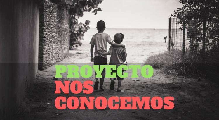 """portada del proyecto """"Nos conocemos"""" - Mi Corazón De Tiza"""