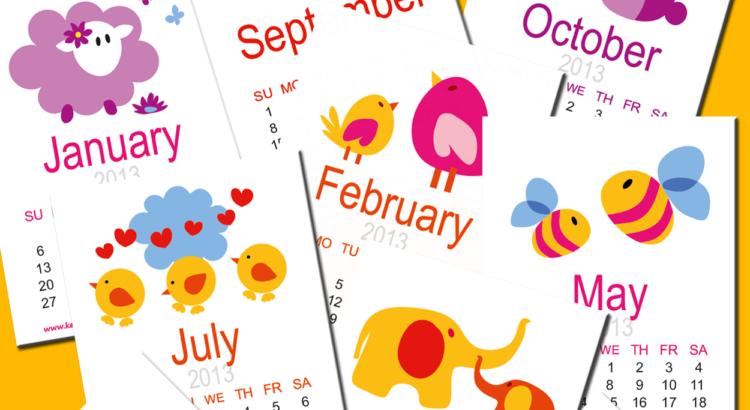 Calendario Escolar Mi Corazón De Tiza