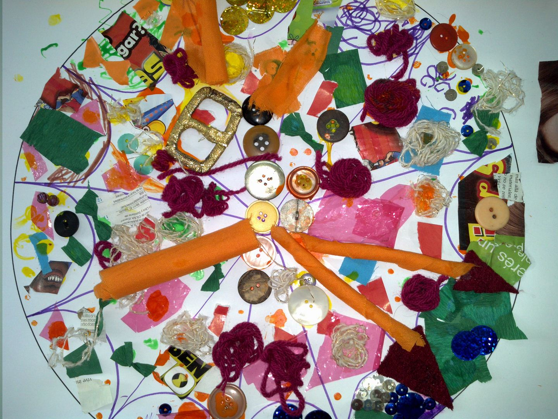 Proyecto as es mi familia mi coraz n de tiza for Mural una familia chicana