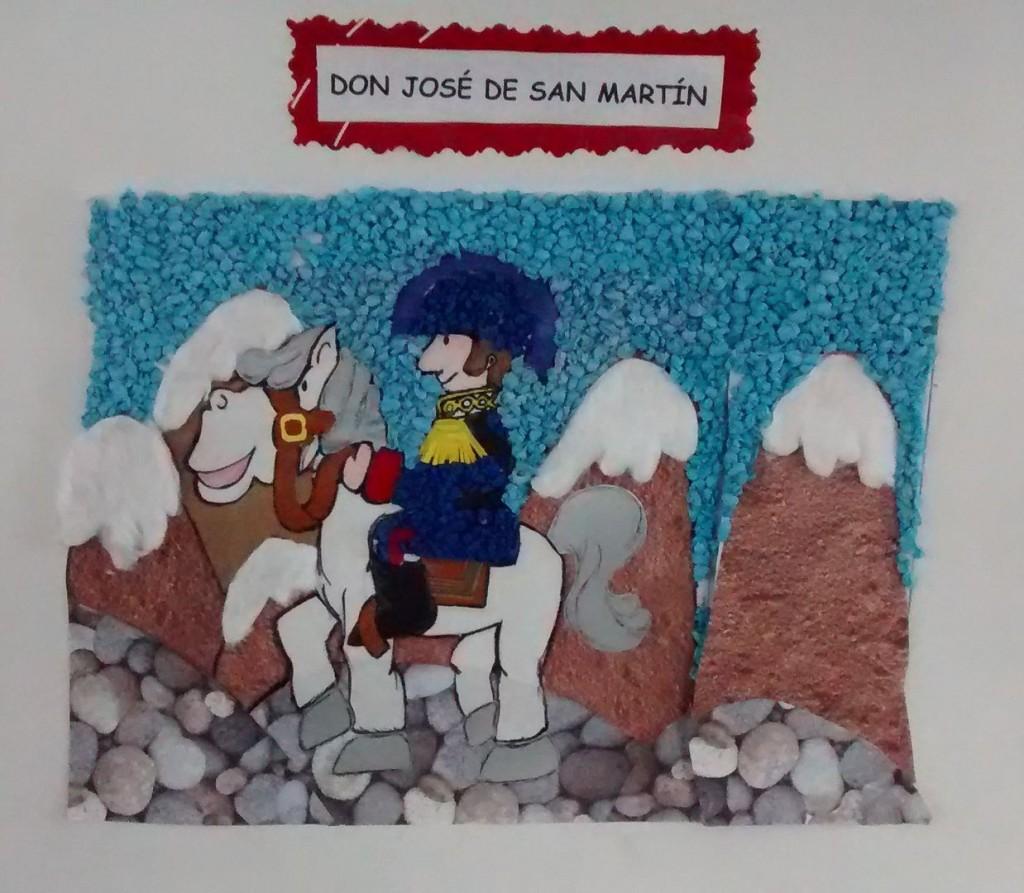 Proyecto: La hazaña de San Martín – 17 de agosto   Mi
