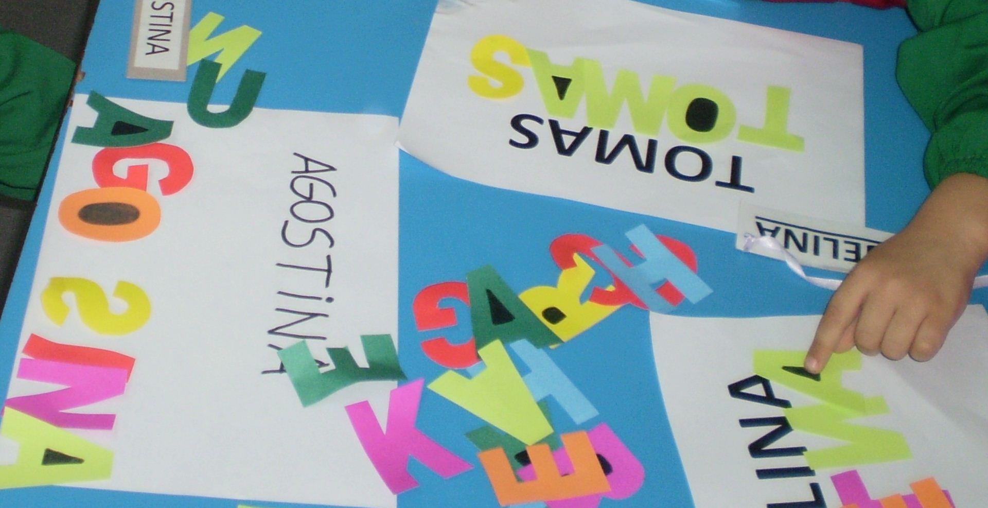 Proyecto a jugar con las palabras mi coraz n de tiza for Actividades para ninos de jardin