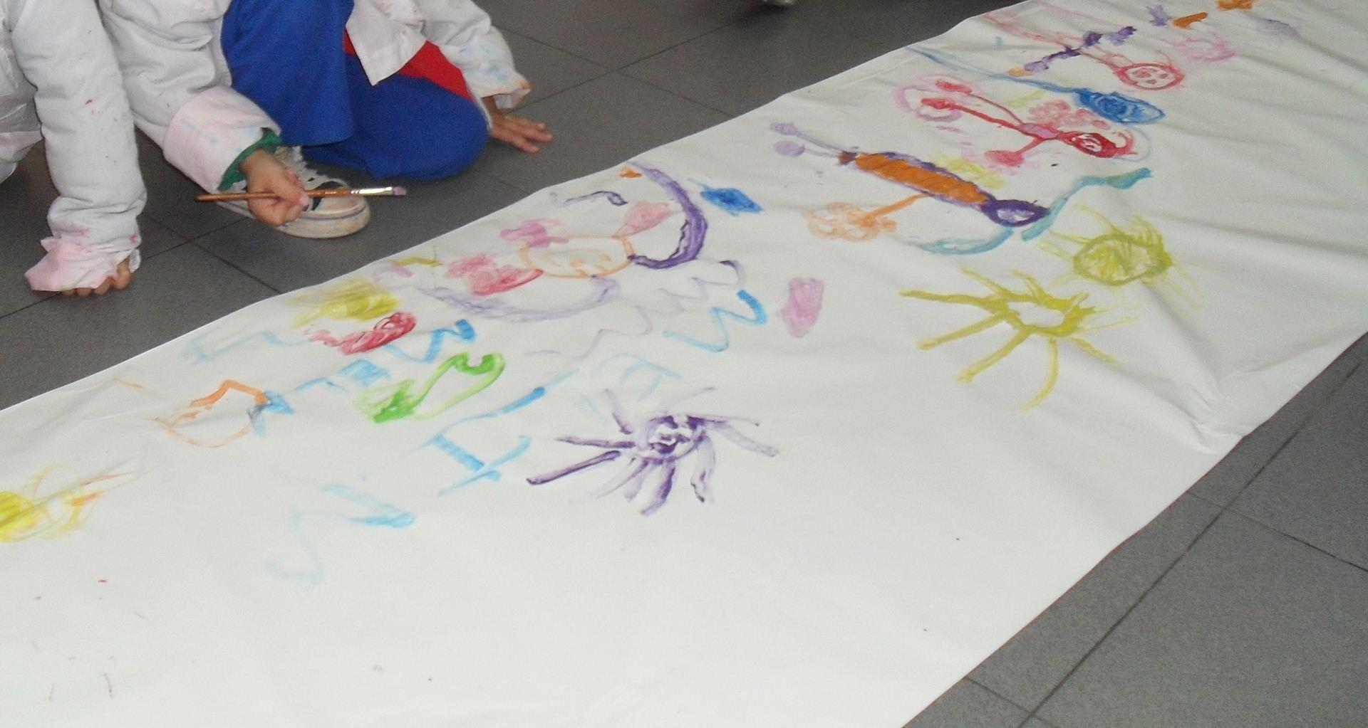 Proyecto feliz d a jard n mi coraz n de tiza for Azul naranja jardin de infantes