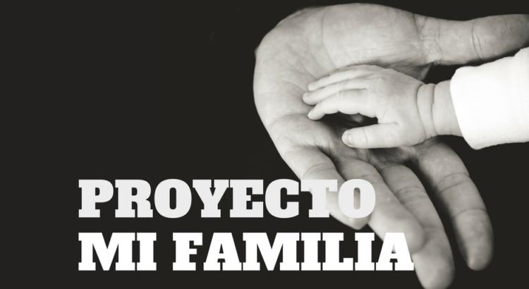 """portada del proyecto """"Mi Familia"""" - Mi Corazón De Tiza"""